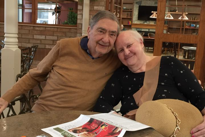 Henry was one of the first residents to move into the new retirement neighbourhoods in the Village of Erin Meadows so he could be close to his wife, Laura, who lives in long-term care