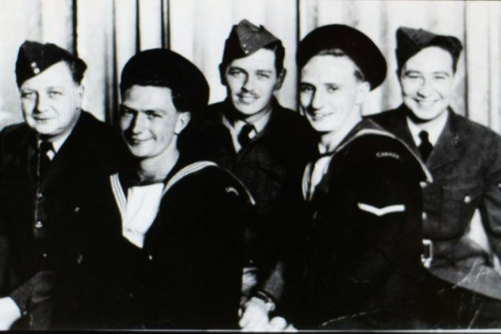 That Jack and his four brothers all chose to serve in the Second World War showed just how much one family was willing to sacrifice in the face of tyranny.