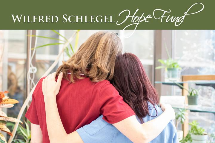 """With the Wilfred Schlegel Hope Fund, team members can be """"receivers of care,"""" in times of need."""