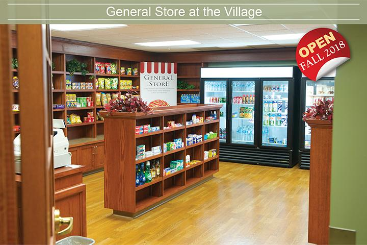 The Village of Erin Meadows in Mississauga will have a general store in the Retirement Home