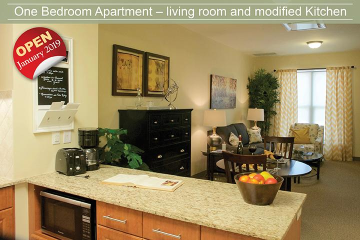 The Village of Erin Meadows Independent Living suite in Mississauga