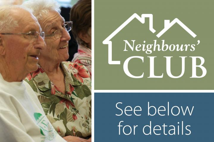 The Village of Tansley Woods in Burlington has a Neighbours Club