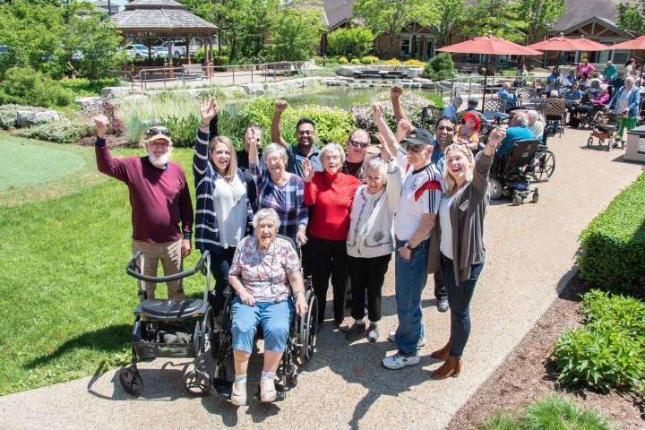 A Village where everyone belongs.  The Village of Winston Park, Retirement Home in Kitchener