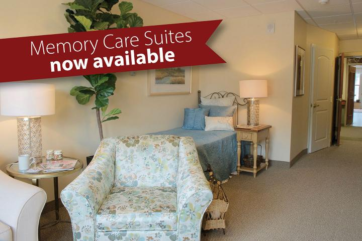 Memory Care Suites now available at The Village of Winston Park in Kitchener