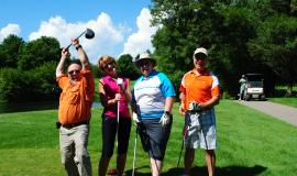 Hand Up for Haiti Golf Tournament