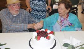 A renewal of vows for Harry and Margaret McMahon on Aug. 16 to mark their 65th Wedding Anniversary