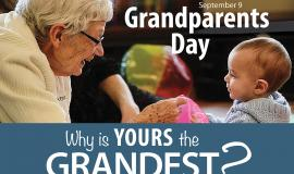 Grandparents Day is September 9th, 2018