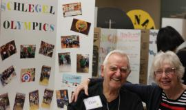 Don & Mary at The Village at University Gates Curiosity Fair