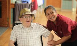 Keith is one of the residents Analyn is honoured tosupport in The Village of Taunton Mills.