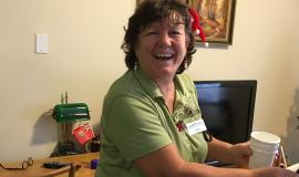 At Riverside Glen, Matilda is one of the team members  who is sure to always be present when she's with a resident.