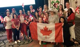 """""""I was proud to be from Canada and even prouder to be from Schlegel Villages,"""" says Steph Hamilton about her time at the 2019 Pioneer Network Conference."""
