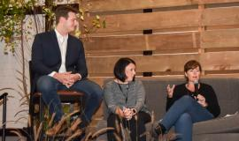 Adam Frye, Jennifer Hartwick and Jaimie Killingbeck discuss early findings from the design-thinking process.