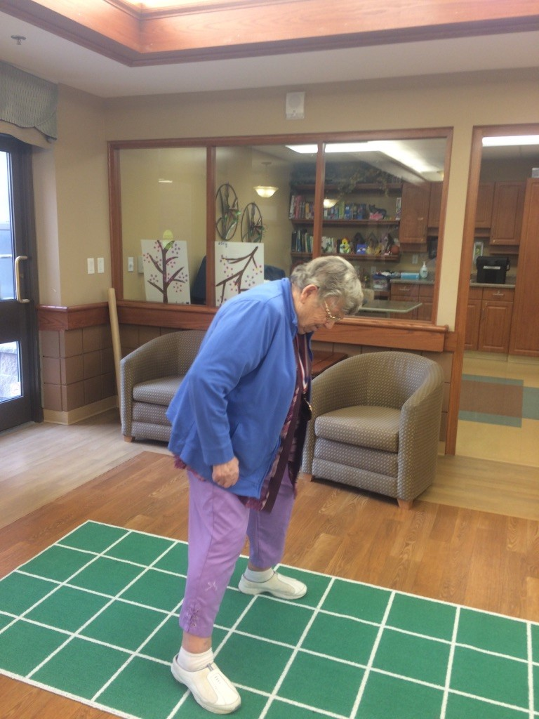 Square Stepping Research at Schlegel Villages