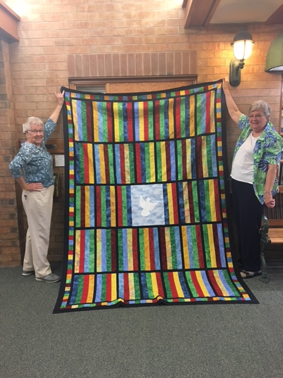 Dignity Quilt at Winston Park