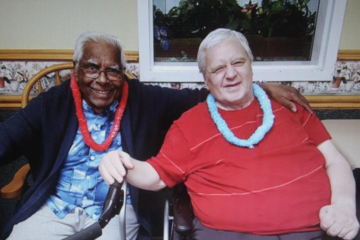 George and Barry both speak highly of the community they call home, Pinehaven Nursing Home.