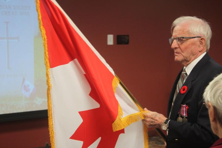 Resident veterans of Taunton Mills, like so many across the organization, were proud to mark Remembrance Day Nov. 11.
