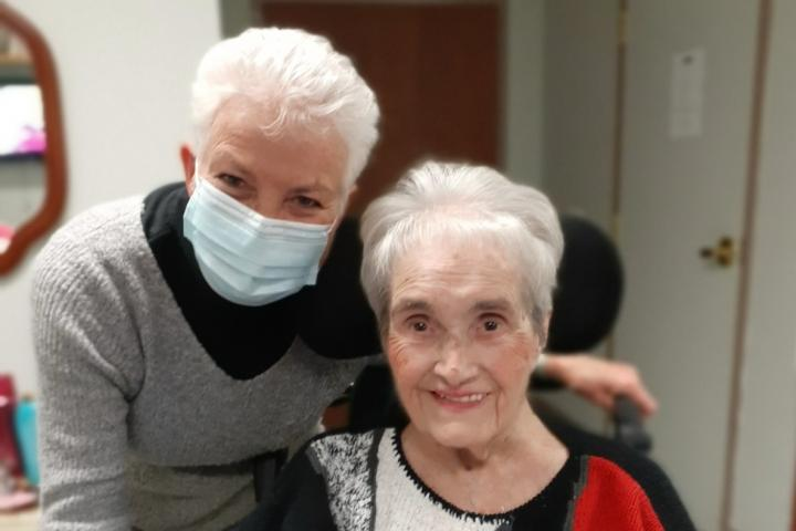 Rose and her mother Margarete are so grateful for the love and healing they have seen at The Village of Tansley Woods.