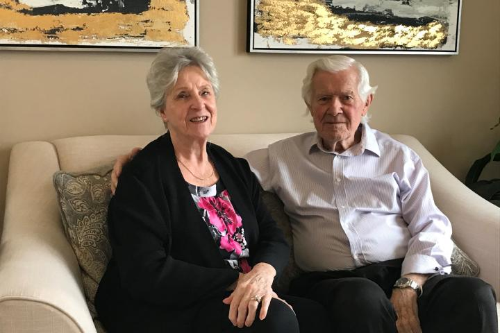 Elizabeth and Ross have found a level of comfort they enjoy in The Village of Erin Meadows, in part because of the wonderful team that works there.