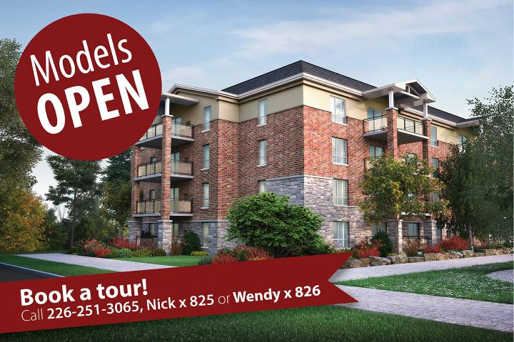 Model Suites are open at The Village of Arbour Trails in Guelph.  Book a Tour of our Retirement Living Options.