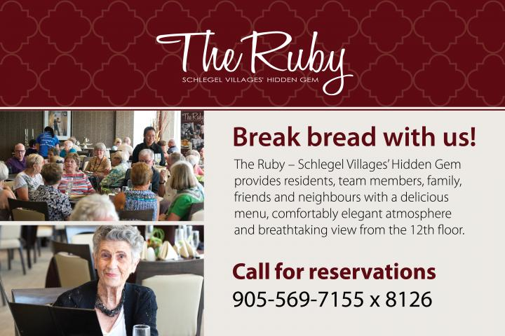 Dine at The Ruby in Mississauga