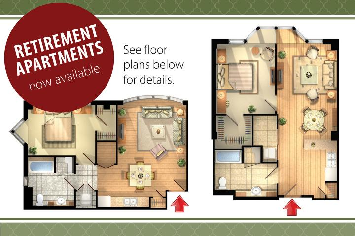 Retirement Apartments now available at The Village of Humber Heights in Etobicoke
