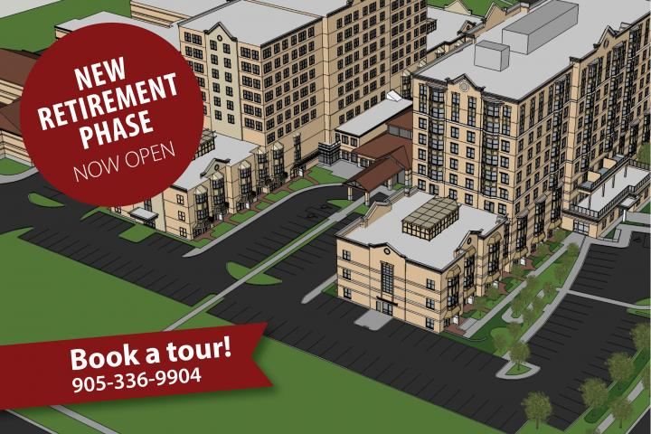 New retirement phase at The Village of Tansley Woods in Burlington is now open