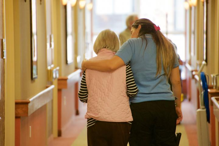 Dedicated support means the same care providers work with the same residents consistently, creating opportunites for deeper, more meaningful relationships to form.