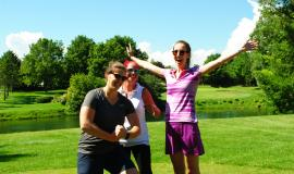 The annual Hand Up For Haiti golf tournament is a fun way to support the cause.