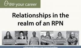 Relationships in the realm of an RPN Village Voice Story