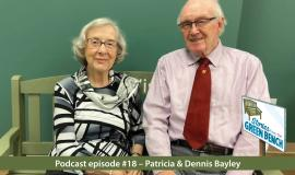 Patricia & Dennis Bayley - A pursuit of passions, hobbies, poetry, traveling and laughter on the #ElderWisdom Stories from the Green Bench Podcast