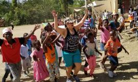 The Children's day camps offered some of the most rewarding experiences during past trips to Haiti.