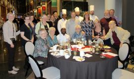 Schlegel Villages Team enjoying a night at the Healthy Hearts Chef Challenge
