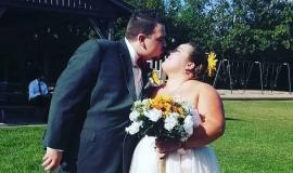 Residents at Pinehaven cheered when Will, a beloved PSW, kissed his bride