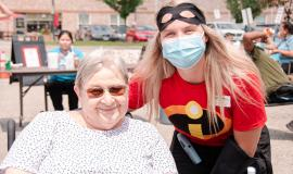 Residents and team members at The Village of RiversideGlen marked 500 days since the pandemic was declared with reflections on a difficult past and hope for the future.