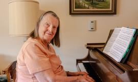 Music took Ruth all over the world, and it's still a big part of her life at The Village of Humber Heights.