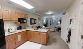 Virtual Tour of a Retirement Apartment at The Village of Taunton Mills in Whitby