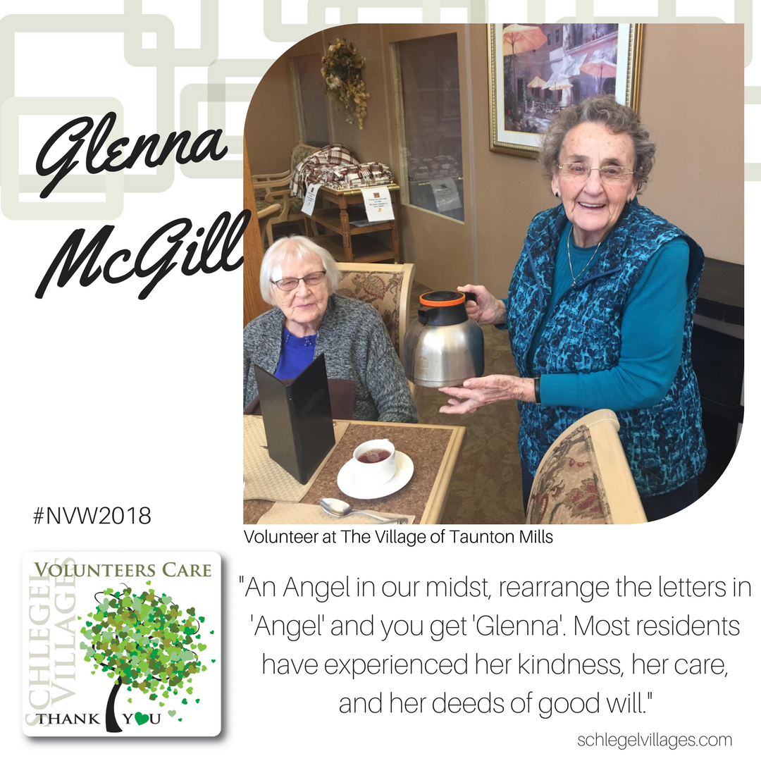 Glenna McGill - Volunteer at Taunton Mills