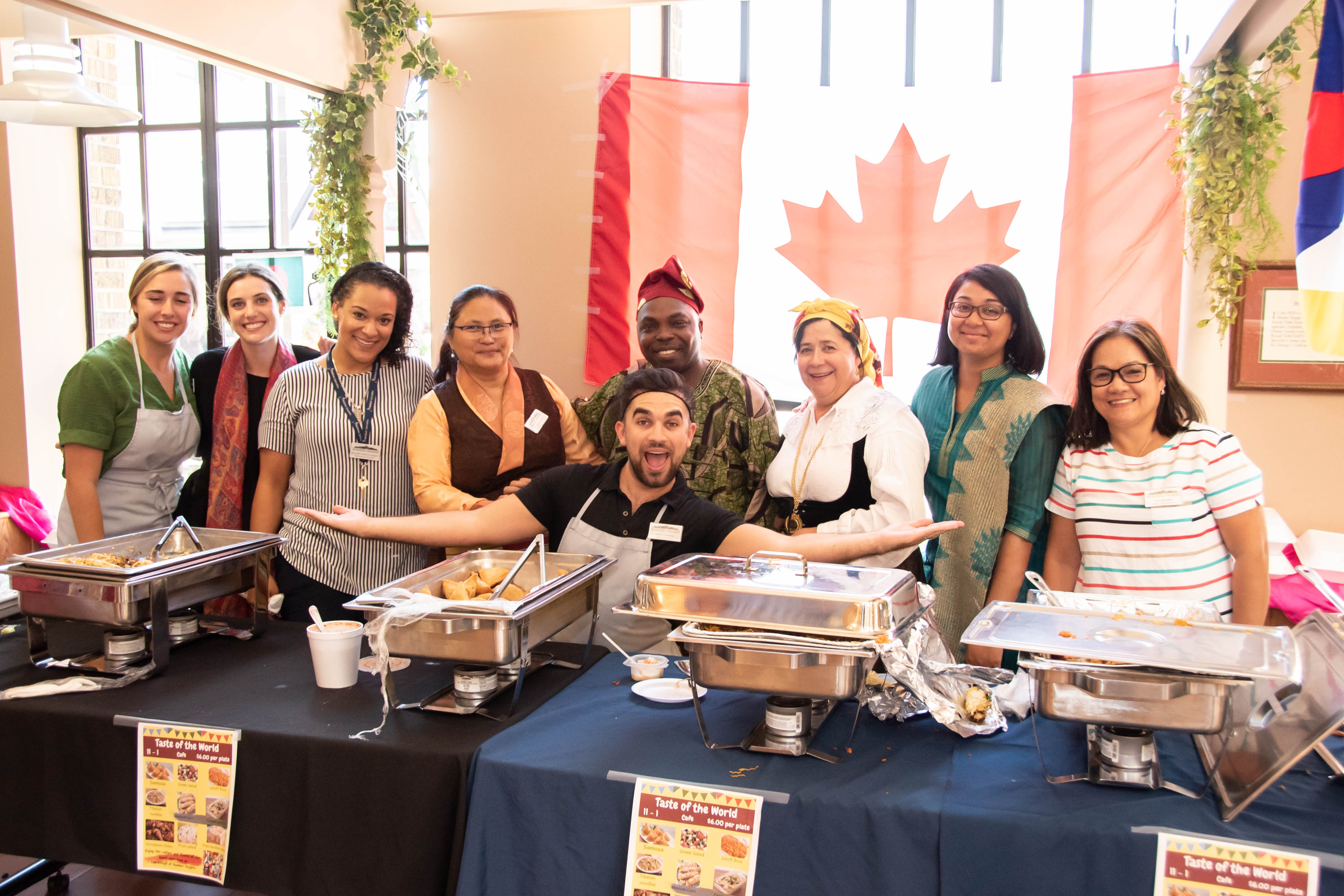 "Humber Heights team members celebrated the wonderful cultures of the Village during the final ""Diversity Lunch"" of the summer."