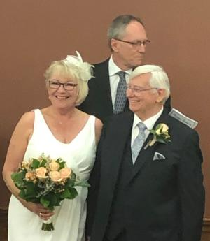 Darla and Bill were married at Erin Meadows by  Darla's brother, Rev. Michael Ward.