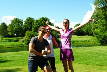 The annual golf tournament is a fun way to support the cause.