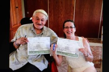 Barry is preparing to get a third certificate in the LIVING the  Dementia Journey education program.