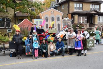 Schlegel Villages Team Members and Residents enjoyed taking part in the annual Oktoberfest Parade.