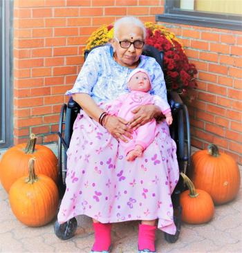 Siva, who lives with dementia, finds comfort when her maternal instincts and identity as a mother are nurtured. Some may question the appropriateness of a doll, but a team that truly knows those they support are best to know what is appropriate in the moment.