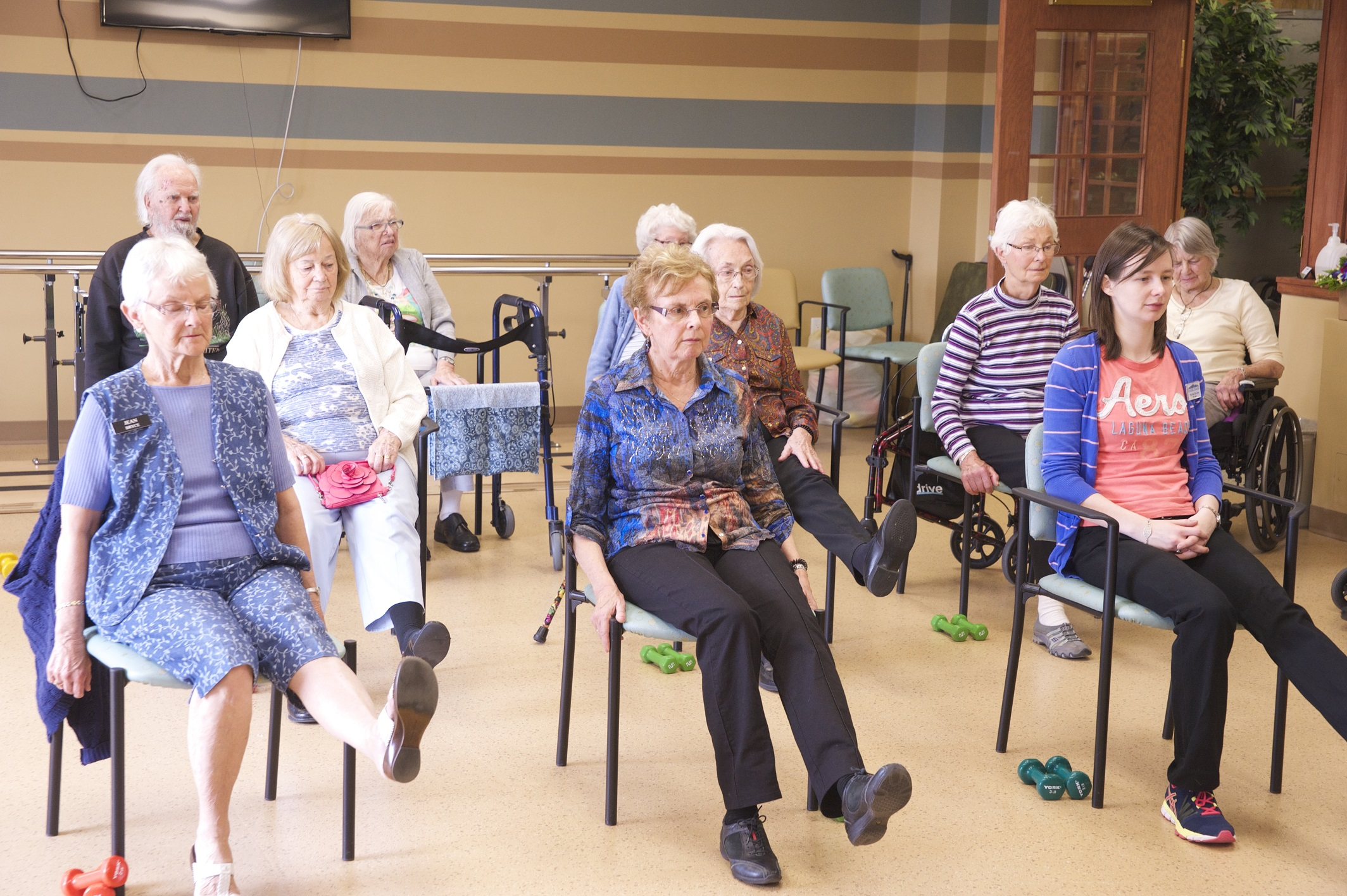 Exercise Class at the Village